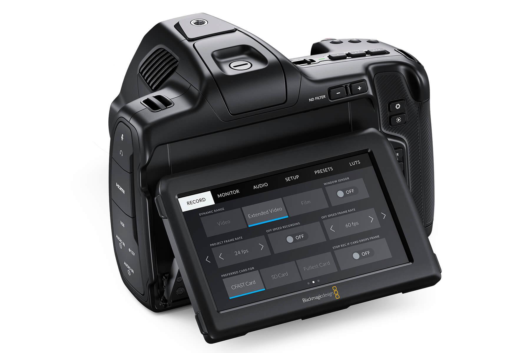Blackmagic Pocket Cinema Camera 6K Pro back