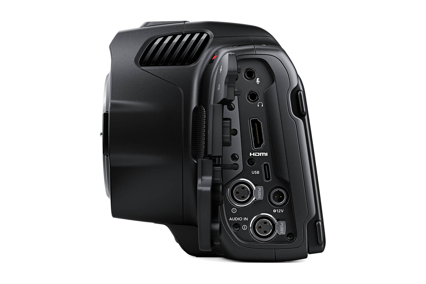 Blackmagic Pocket Cinema Camera 6K Pro connectivity