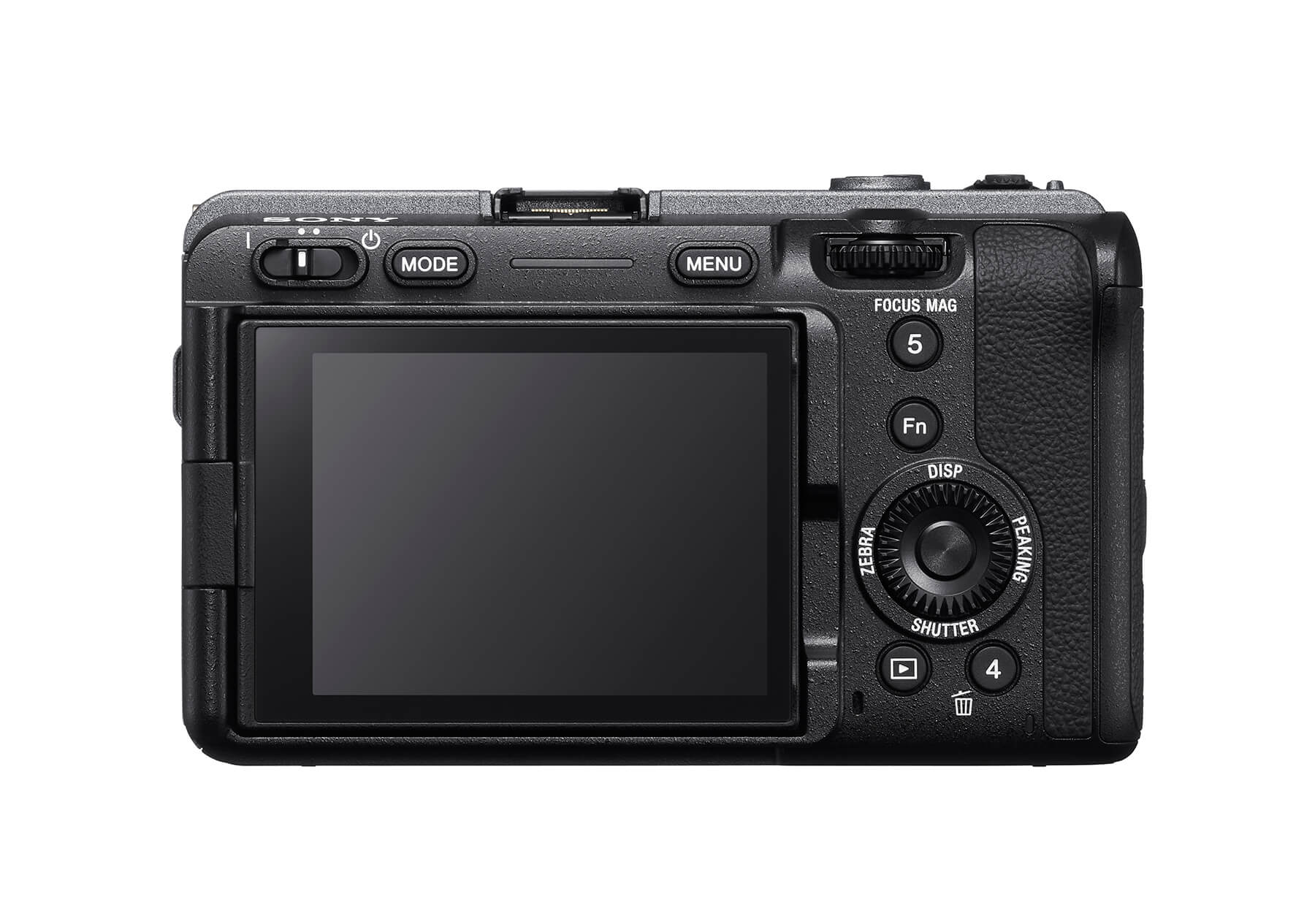 Sony FX3 back