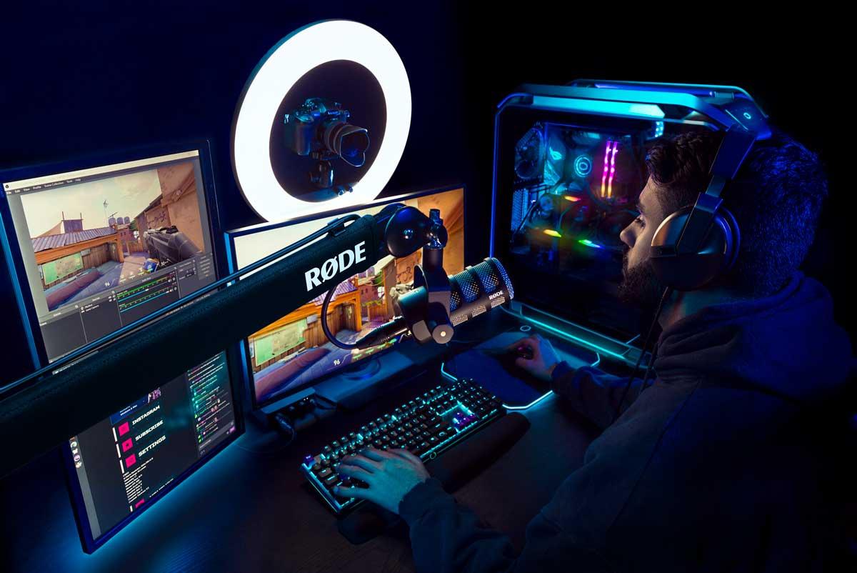 Home-gaming set-up